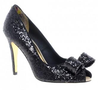 Ted Baker Morni Heeled Peeptoe Bow Court Shoes