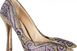 Nicholas Kirkwood shoes: crystal studded pointed pumps
