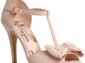 Next pink jewel t-bar sandals
