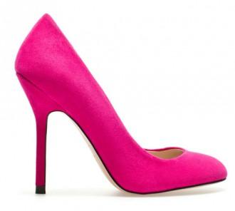 zara pink high heels