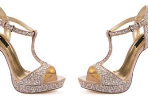 glitter t-bar shoes