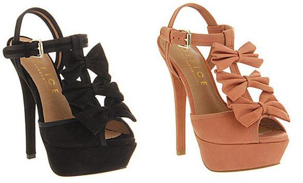 08c1244a08c2 Office Outrageous Bow sandals   Shoeperwoman