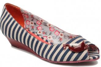 nautical wedge shoes