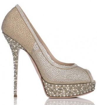 jewelled platform peep toes
