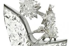 casadei for swarovski crystal wedges