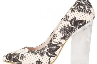 Topshop 'Glass' heels