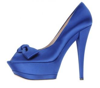 blue platform shoes