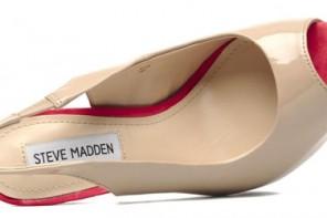 nude peep toe shoes