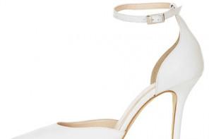 white stiletto shoes
