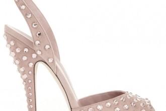 Gucci Swarovski crystal pink sandals