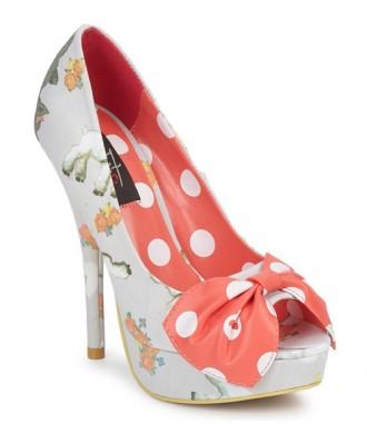 Iron First 'black sheep' peep toe shoes
