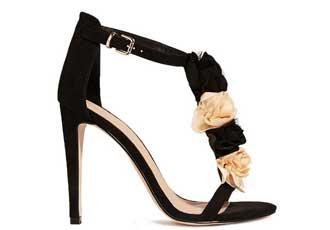ASOS flower sandals