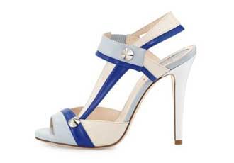 Fendi asymmetric sandals