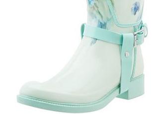 floral wellington boots