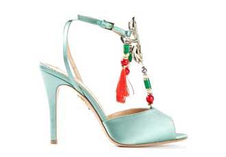 mint green sandals
