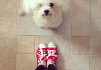 red sneakers: ShoperWoman;s week in shoes