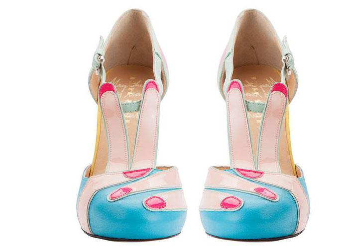 'Peace' shoes