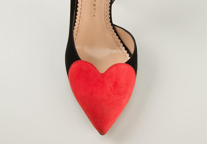 Charlotte Olympia 'Love Vamp' pumps