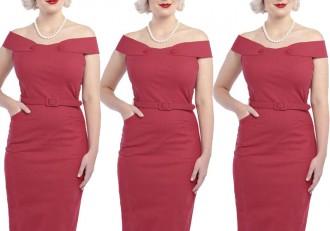 Collectif Eloise pencil dress