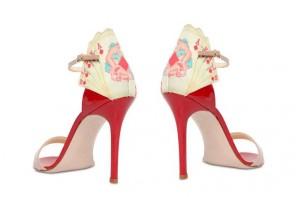 Camilla Elphick 105MM Royal Flush Patent Leather Sandals