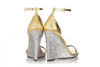 Saint Laurent 'Jane' wedge sandals