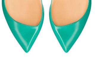 Christian Louboutin 'Corneille' high heeled pumps in opaline