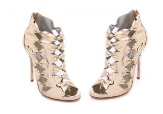 Oscar de la Renta ' Talina' peep toe sandals