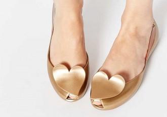Vivienne Westwood Melissa heart shoes