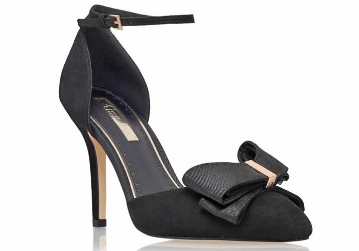 Kurt Geiger 'Gala' black high heel d'orsay pumps