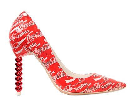 Unusual Shoes: Sophia Webster Coca Cola shoes