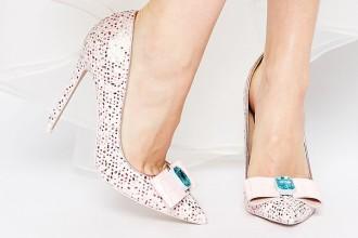 ASOS parade pointed high heels