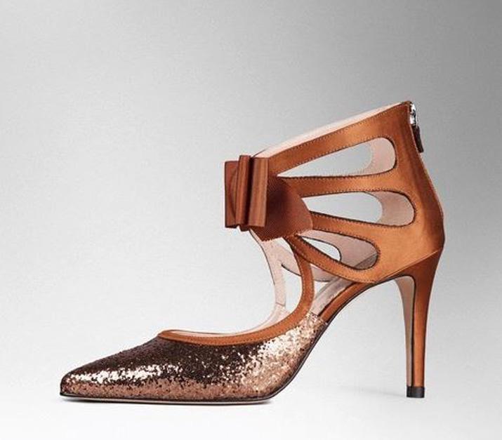 Boden glitter bow heels