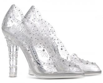Dolce & Gabanna plexiglass court shoes
