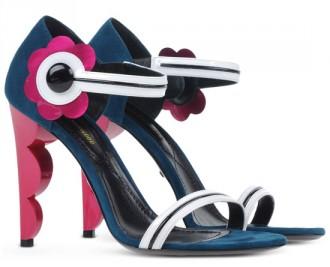 Nicholas Kirkwood sculpted heel sandals