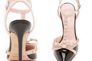 Kate Spade 'Lydia' jewel pumps