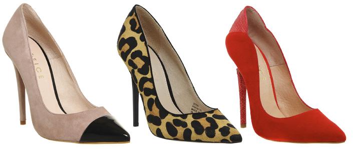 high heel court shoes