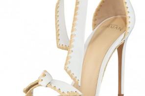 Alexandre Birman Clarita Whipstitch Leather Sandal