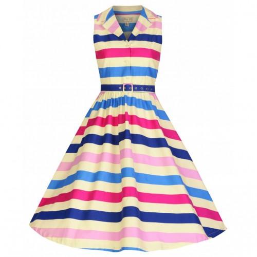 Lindy Bop Dresses roundup: 'Matilda' Ice Cream Stripe Rockabilly Shirt Dress