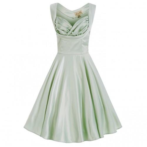 Ophelia dress in mint green by Lindy Bop