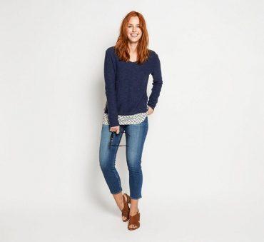 Fat Face slim capri jeans
