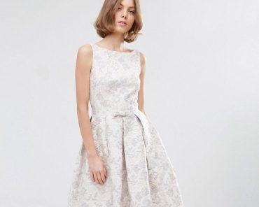 ASOS midi prom dress