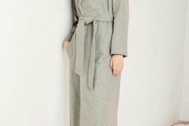 Next grey belted coat