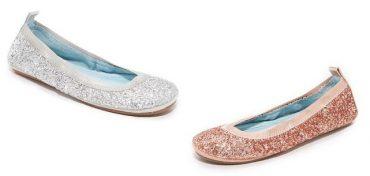 HITCHED by Yosi Samra Serena Glitter Flats