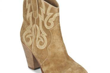 Ash camel ankle boots