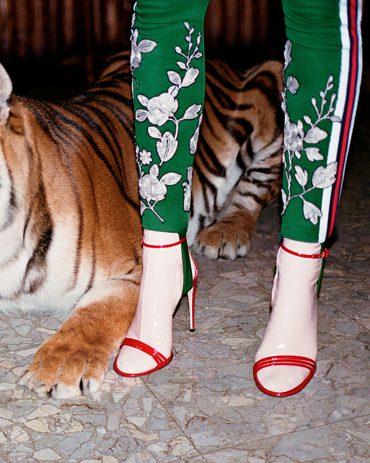 Gucci Ilse Patent 110mm Sandals