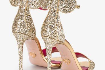 Oscar Tiye glitter Minnie Sandals