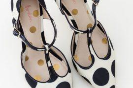 Bodden Angelica t-bar heels