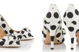 "Charlotte Olympia ""Etta"" polka dot bow shoes"