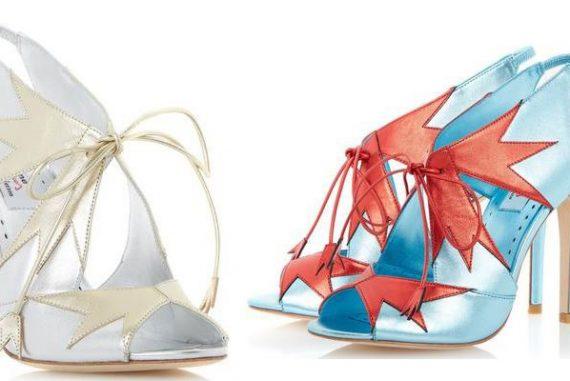 Dune 'Dream Girl' star print heels