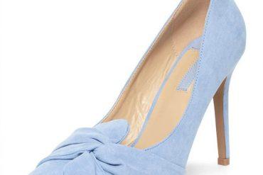 Dorothy Perkins 'Gotcha' twisted bow court shoes